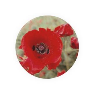 《紅い花》 Badges