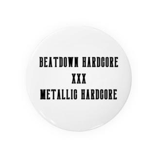 BEATDOWN AND METALLIC HARDCORE Badges