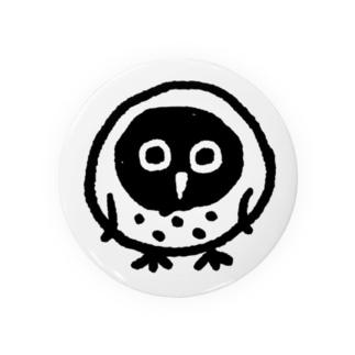 owlくん缶バッジ Badges