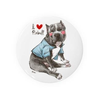 I love pitbull❤︎ Badges