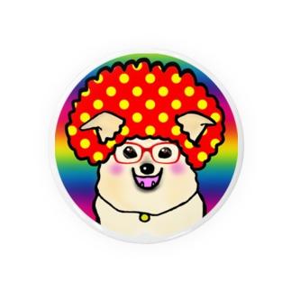 アフロ雑種犬 Badges