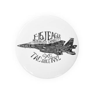 タイポグラフィ F-15 Badges