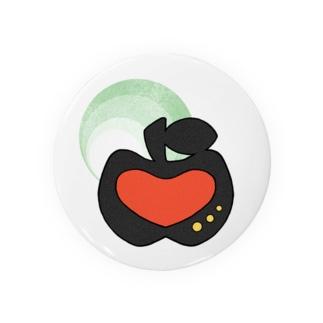 #02 アップルハート(あか) Badges