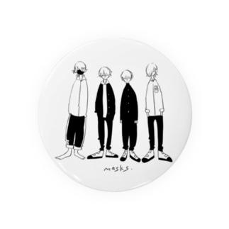 masks Badges
