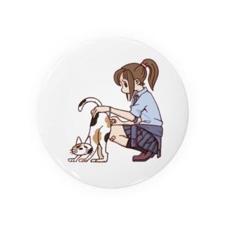 JKと三毛猫 Badges