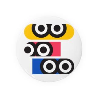 ギョロ目3 Badges