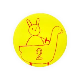 アヒルカー2号 Badges