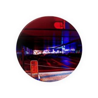 大阪のバスターミナル Badges