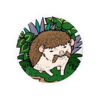 虫食いハリネズミ ノーマル Badges