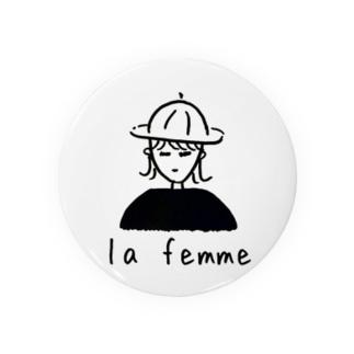 la femme ー女の子ー Badges