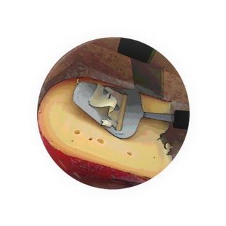 チーズ Badges