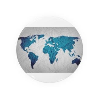 氷と水の世界地図 Badges