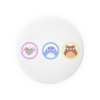 animal trio ☆ Badges