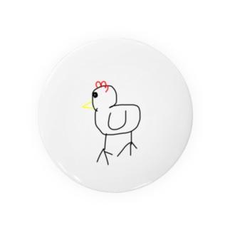 鳥バッジ Badges