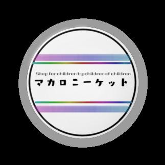 マカロニーケットのマカロニーケットロゴ Badges