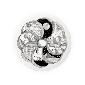 円環(circle) Badges