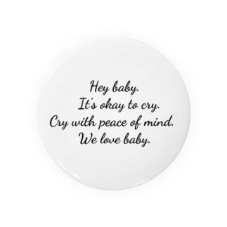 We love baby , Badges