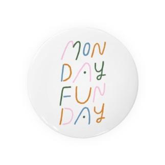 MONDAY FUNDAY Badges
