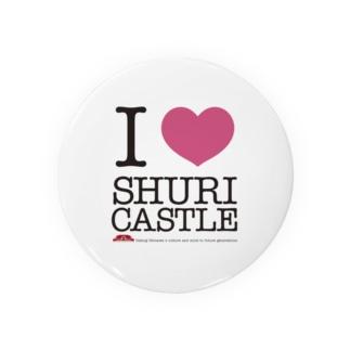 I LOVE SHURIJO Badges