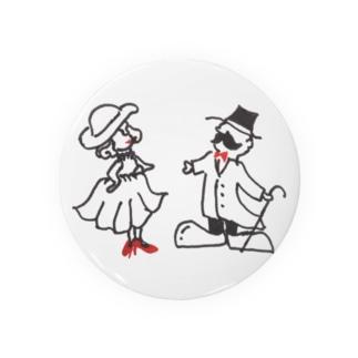 紳士と淑女 Badges