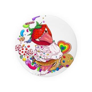 キラーカップケーキ Badges