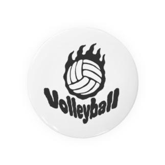 Fire volleyball🔥🏐・ボール一個バージョン Badges