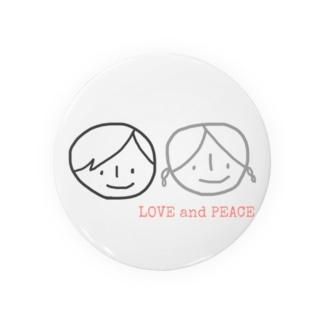 LOVE &PEACE Badges