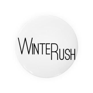 WINTER RUSH缶バッジ Badges