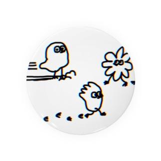スライドちょぴ 鳥さんみたいなイキモノ Badges