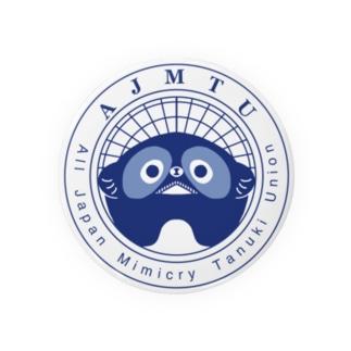 全日本擬態狸組合 Badges