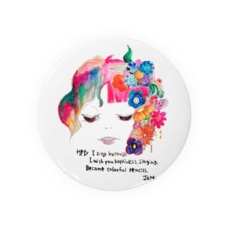 Flower Badges