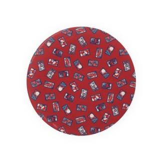 【日本レトロ#30】花札 Badges