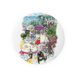 猫とペンギンと旅気分 Badges