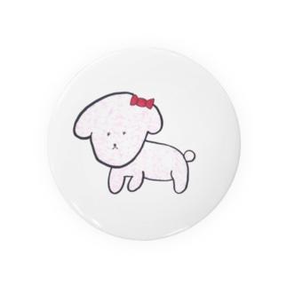 ピンクプードル Badges