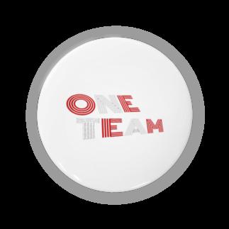 文字ショップのONE TEAM Badges