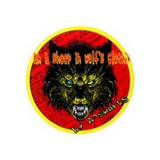 狼の皮を被った羊 Badges