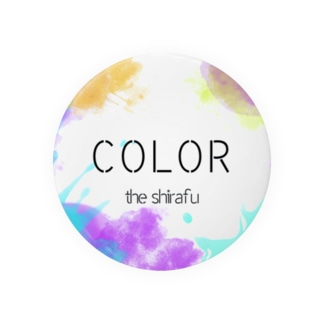 COLOR 缶バッジ Badges
