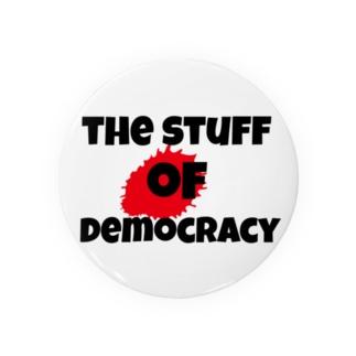 The stuff of democracy パンクファッション 缶バッジ Badges