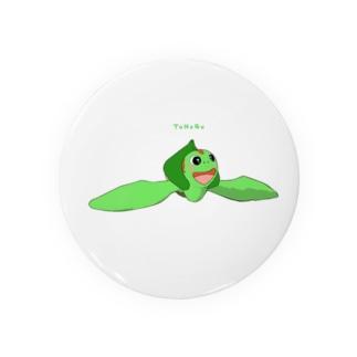 ウミガメアカミミガメ 遊泳 Badges