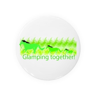 Glamping together! Badges