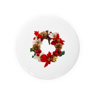 クリスマスリース Badges