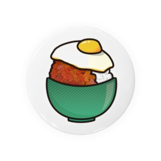 目玉焼き丼16【そぼろ】 Badges