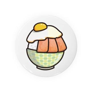 目玉焼き丼31【スパム】 Badges