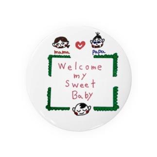 赤ちゃんに送る言葉 Badges