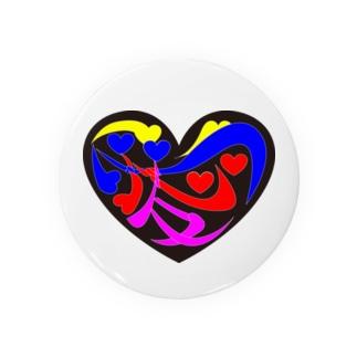 心と心が絡む友が愛 Badges