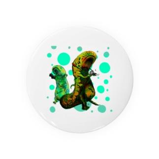 【報告】爬虫類にカメラを持たせたらこうなります Badges