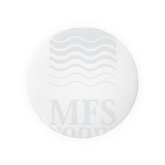 MFS room trim6(淡い灰色) 缶バッジ