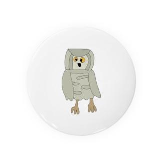 フクロウ Badges