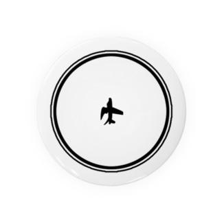 鳥飛行機 Badges