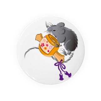 吉祥 ネズミ&小槌2020B Badges